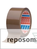 6 Rollen Tesa-Paketklebeband, braun, 66m*50mm / !Staffelpreise!