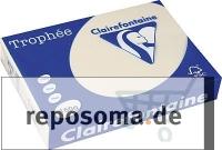 Kopierpapier, Sand Creame, A4, 160 g/qm, 250 Blatt, holzfrei, Tr