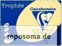 Kopierpapier, Chamois, A4, 160 g/qm, 250 Blatt, holzfrei, Trophee